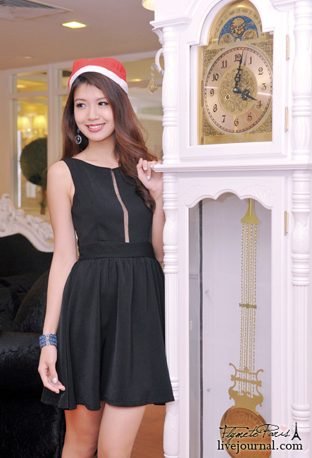 Parisian Beauty Dress in Black