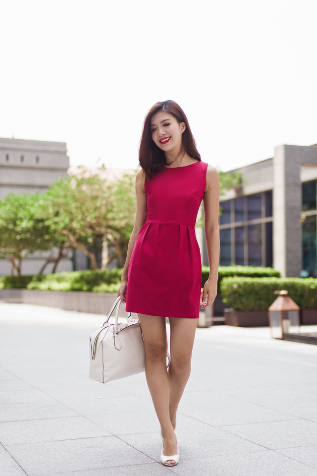 Corporate Beauty Dress in Rose