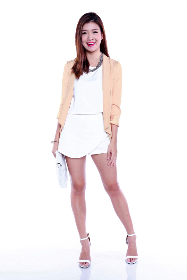 Style It Up Blazer in Nude Pink