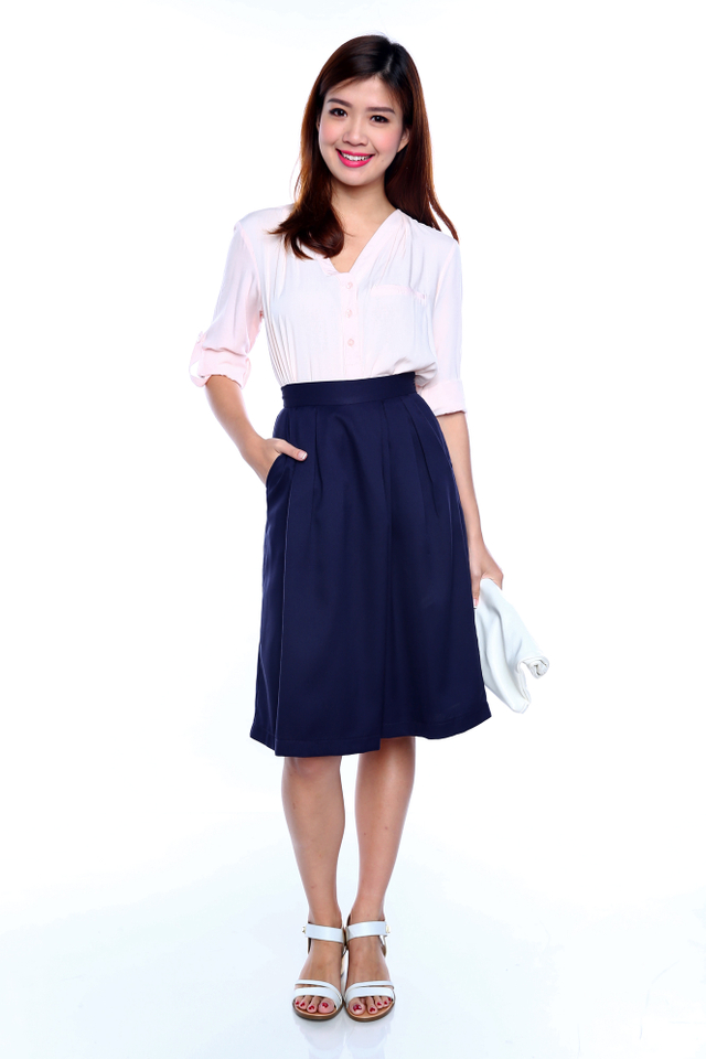 Jenelle Culottes in Navy