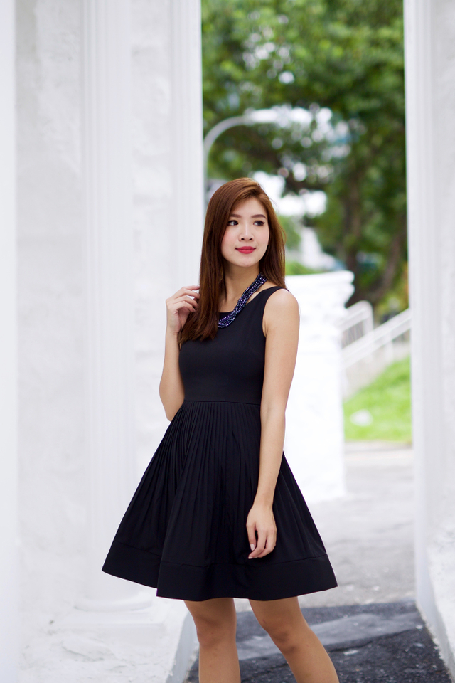 Sweet Nothings Dress in Black