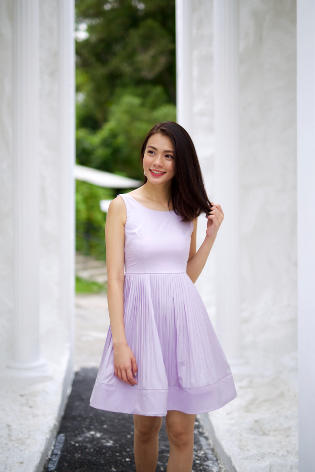 Sweet Nothings Dress in Lilac