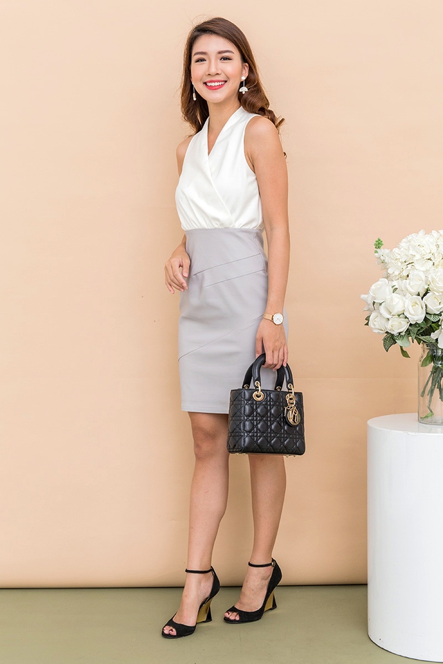 Poised Lady Work Dress