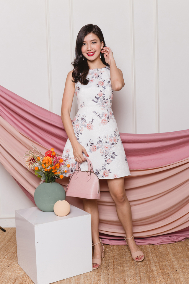 True Harmony Dress in Baroque Floral