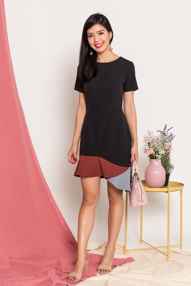 Hayley Colour Block Dress
