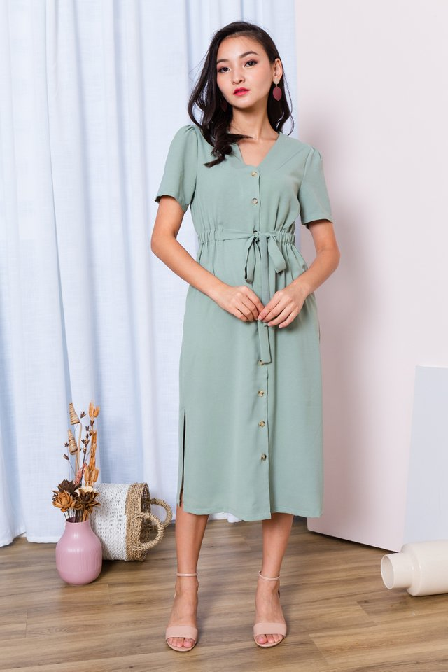 Fresh Balsam Dress in Sage
