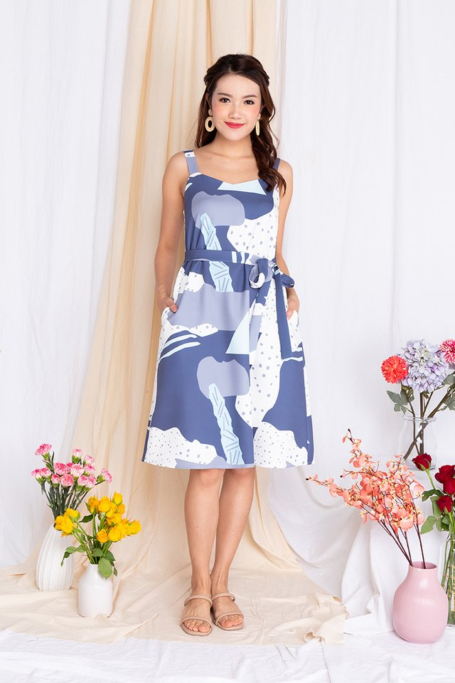 Fine Enamour Sweetheart Flare Dress