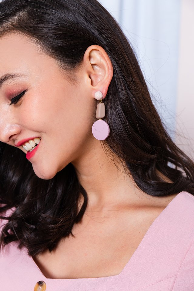 Modelle Earrings in Pink