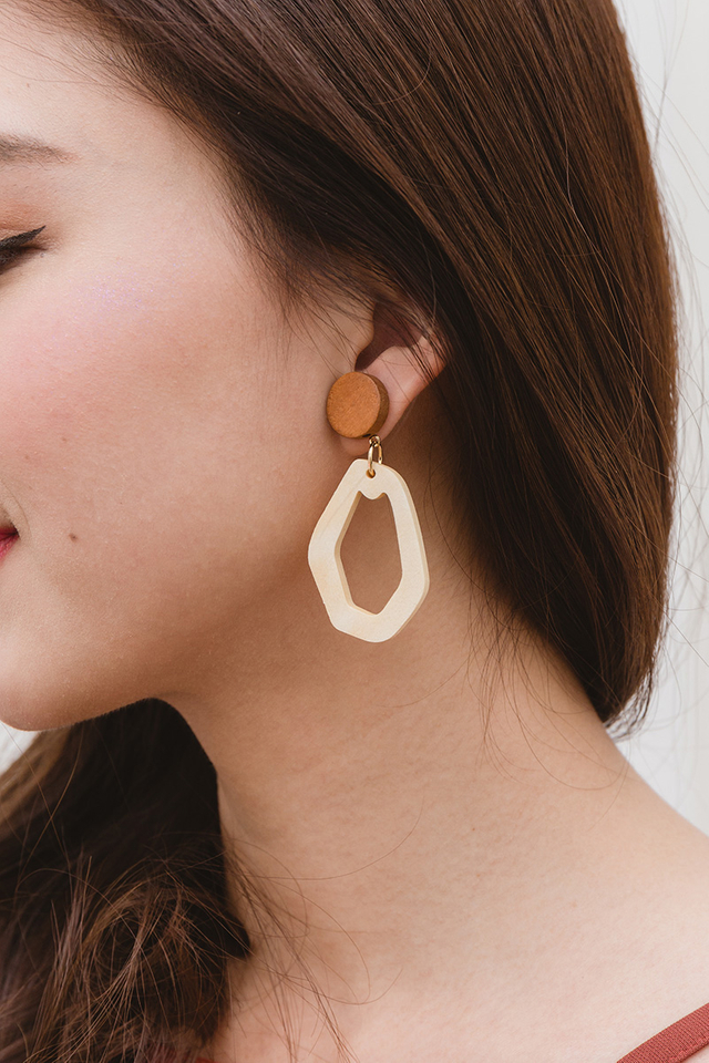 Prudence Geometric Earrings