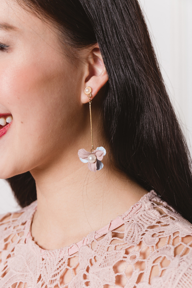 Twice the Blessings Pearl Earrings